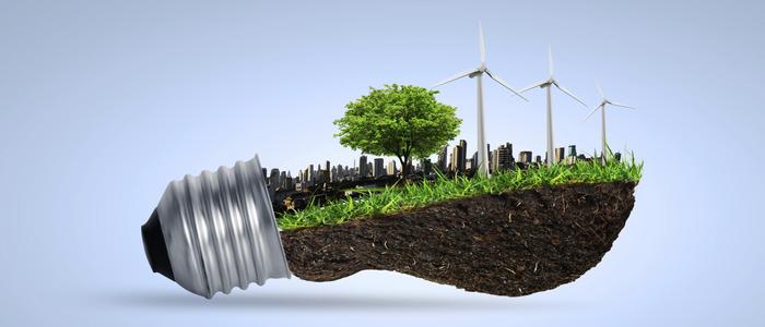 lampadina sostenibilità